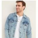Deals List: Old Navy Acid-Wash Built-In Flex Jean Jacket for Men
