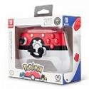 Deals List: PowerA Enhanced Wireless Controller for Nintendo Switch: Pokemon Poke Ball Red - Nintendo Switch