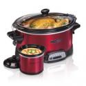Deals List: Hamilton Beach 7-qt Go Programmable Slow Cooker w/Party Dipper