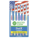 Deals List: Oral-b Healthy Clean Toothbrushes, Medium Bristles, 6 Count