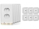 Deals List: 5-Pack Above Edge Outlet Cover Plates + 6x Plug-in Nightlights