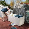 Deals List: Lifetime 60012 Extra Large Deck Box, 130 Gallon, Desert Sand/Brown