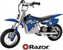 Deals List: Razor MX350 Dirt Rocket Electric Motocross Bike - Blue