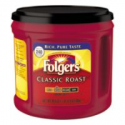Deals List: Folgers Classic Roast Coffee 30.5-Oz Can