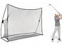 Deals List: AmazonBasics 10' x 7' Portable Driving Practice Golf Net