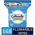 Deals List: Cottonelle FreshCare Flushable Wipes, resealable pack, 168 wipes