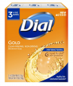 Deals List: Dial Antibacterial Deodorant Soap, Gold, 3 Count