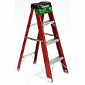 Deals List: Werner 4 ft. Red Fiberglass Step Ladder with 225 lb. Load Capacity Type II