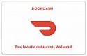 Deals List: $50 Doordash e-Gift Card