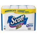 Deals List: 36-ct Scott 1100 Unscented Bath Tissue Bonus Pack