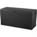 Deals List: 71gal Comfy Outdoor Storage Deck Box Brown - Keter