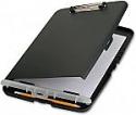 Deals List: Officemate Slim Clipboard Storage Box, Charcoal (83303)