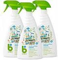 Deals List: Babyganics Multi Surface Cleaner, Fragrance Free, 32oz Spray Bottle (Pack of 3)