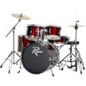 Deals List: Rogue 5-Piece Complete Drum Set Wine Red