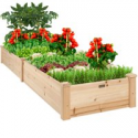 Deals List: Best Choice Products 8x2ft Outdoor Raised Wooden Garden Bed Planter