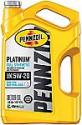 Deals List: Pennzoil Platinum Full Synthetic Motor Oil (SN) 5W-20, 5 Quart - Pack of 1