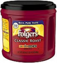 Deals List: Folgers Classic Roast Ground Coffee Medium Roast 30.5 oz
