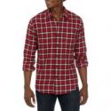 Deals List: True Craft Mens Long Sleeve 2 Pocket Flannel Shirt