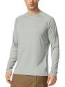 Deals List: BALEAF Men's UPF 50+ Running Outdoor Long Sleeve Sun Protection Performance Athletic Workout Shirt