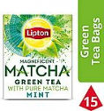 Deals List: Lipton Magnificent Matcha Green Tea Bags, Mint 15 ct (Pack of 4)