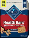 Deals List: Blue Buffalo Health Bars Natural Crunchy Dog Treats Biscuits 3LB