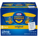 Deals List: 8-Pack of Kraft Original Macaroni & Cheese Dinner (2.05oz Cups)