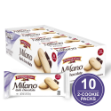 Deals List: Pepperidge Farm Milano Double Milk Chocolate Cookies, 7.5 Ounce (Pack of 3)