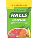 Deals List: HALLS Defense Assorted Citrus Vitamin C Drops, 180 Drops