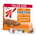 Deals List: Kellogg's Special K Chocolate Caramel Protein Meal Bars - Office Lunch, Meal Replacement (12 Count)