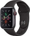 Deals List: Apple Watch Series 5 GPS, 40mm Space Gray Aluminum Case with Black Sport Band