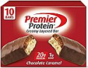 Deals List: Premier Protein 20g Protein bar, Chocolate Caramel, 2.08 Oz, (10Count), 10 Pack