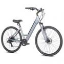 Deals List: Kent Electric Pedal Assist Step-Through Bike, 700C Wheels, Gray E-Bike