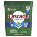 Deals List: Cascade Complete ActionPacs Dishwasher Detergent Pods, Fresh Scent, 63/Pack (97720)