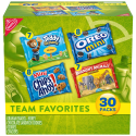 Deals List: Nabisco Team Favorites Mix - Variety Pack with Cookies & Crackers, 30Count Box, 30 oz
