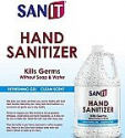 Deals List: Hand Sanitizer Gel: One Gallon Alcohol Based Bulk (128 oz) 70% Isopropyl Alcohol Refill Jug by Sanit