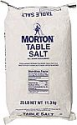 Deals List: Morton Table Salt, Non Iodized Salt, 25 Pound