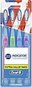 Deals List:  4-Pack Oral-b Indicator Contour Clean Toothbrushes (Medium)