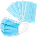 Deals List: 50Pcs Disposable Filter Mask 3 Ply Earloop Face Masks