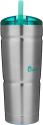 Deals List: Bubba Envy S 24oz Vacuum-Insulated Stainless Steel Straw Tumbler (Stainless Steel w/ Clear Lid)