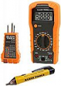 Deals List: Klein Tools 69149 Multimeter Test Kit, Klein Multimeter, Noncontact Voltage Tester and Outlet Tester, Leads and Batteries Included