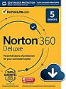 Deals List: Norton 360 Deluxe – Antivirus software for 5 Devices with Auto Renewal - Includes VPN, PC Cloud Backup & Dark Web Monitoring powered by LifeLock [Download]