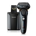 Deals List: Panasonic Arc5 wet/Dry Electric Shaver and Trimmer for Men, 16-D Flexible Pivoting Head and Auto Cleaning and Charging System, ES-LV97-K, Black