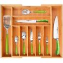 Deals List: Bamboo Kitchen Drawer Organizer /Utensil Holder