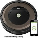 Deals List: iRobot - Roomba 890 Wi-Fi Connected Robot Vacuum with Dual Mode Virtual Wall Barrier - Black/brown