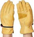 Deals List: AmazonBasics Leather Work Gloves