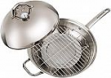 "Deals List: Master Pan MasterWok Multi-Use Wok, 13"", Stainless Steel"