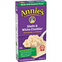 Deals List: Annie's Macaroni and Cheese, Shells & White Cheddar Mac and Cheese, 6 oz Box (Pack of 12)