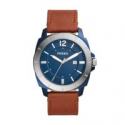 Deals List: Fossil Privateer Sport Three-Hand Date Brown Leather Watch