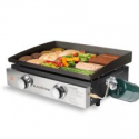 Deals List: Blackstone 22-in Tabletop 2 Burner Griddle with Cover