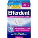 Deals List: Efferdent Denture Cleanser Tablets, Complete Clean, 102 Tablets